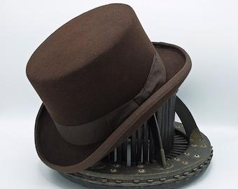 The TOP HAT | Wool or Fur Felt | Custom Handmade