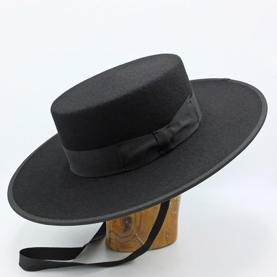 The Bolero Handmade Spanish Style hat  fc87ccea597