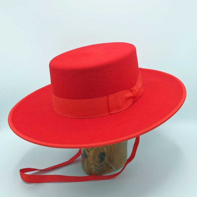 cebc240f68cfd The Bolero Handmade Spanish Style hat | Etsy