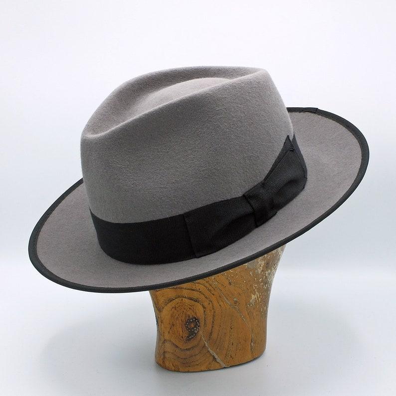 c37c672cc The Teardrop Fedora, Handmade Fedora Hat