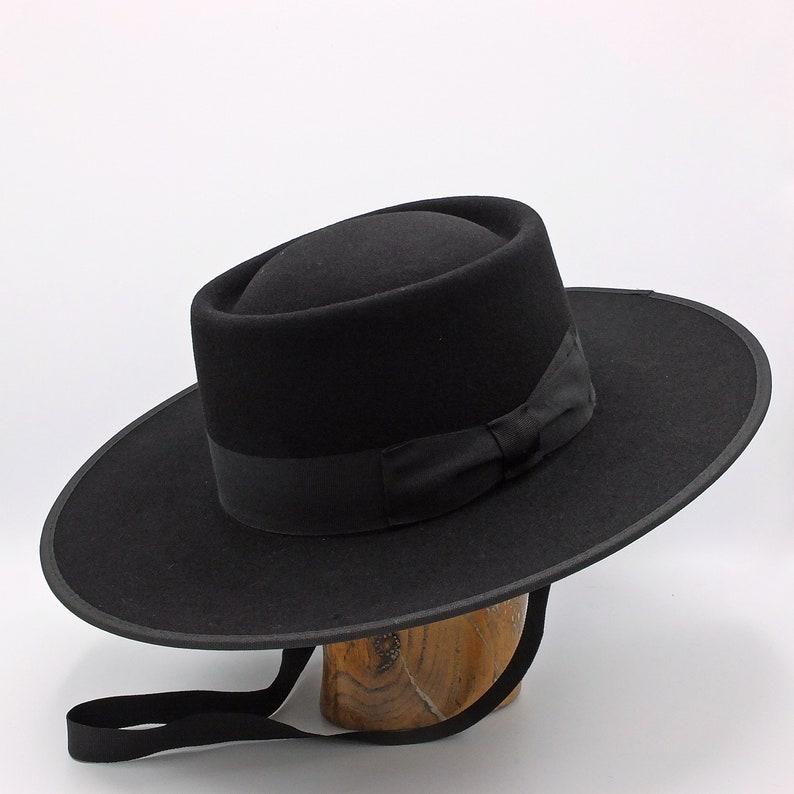 3564e4803cf The Portuguese riding hat Handmade Bolero Hat