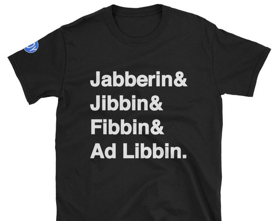 Jabberin Short-Sleeve Unisex T-Shirt by J.O.Y.
