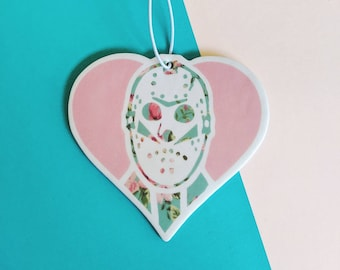 Jason Vorhees Floral Friday the 13th Air Freshener Car Accessories