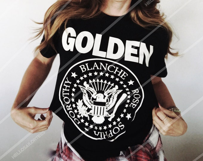 Ramones Golden Girls Parody Band Unisex t-shirt