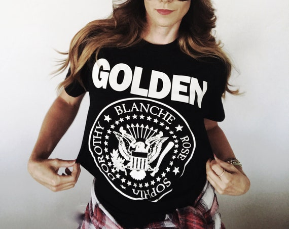 Ramones Golden Girls Parody Band t-shirt
