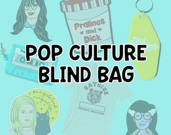 Pop Culture Blind Bag Random Assortment of Pop Culture Merch
