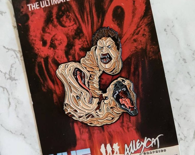 Alley Cat Graphics The Thing Horror Enamel Pin