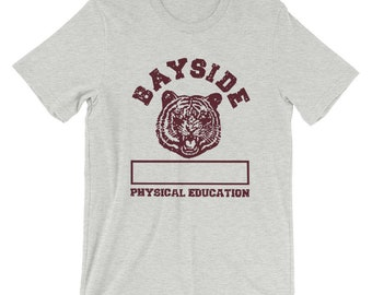 Saved By The Bell Bayside High Gym Shirt Short-Sleeve Unisex T-Shirt