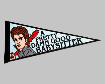 Steve Harrington Stranger Things Felt Banner Pennant