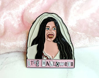 It's Halloween Cady Mean Girls Ex Wife Enamel Pin