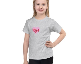 Girl Gang Heart Short sleeve kids t-shirt