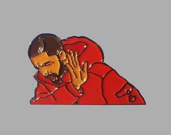 Drake Hotline Bling Meme Enamel Lapel Pin