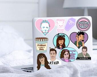 Pop Sticker Packs Daria Trent New Girl Parks Rec Horror