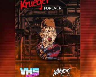 Nightmare On Elm Street Freddy Krueger Enamel Pin