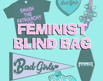 Feminist Blind Bag Random Assortment of Feminist Merch