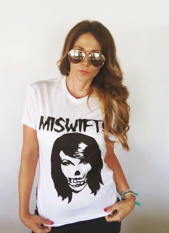 The Miswifts Taylor Swift Misfits Fiend Parody Tshirt