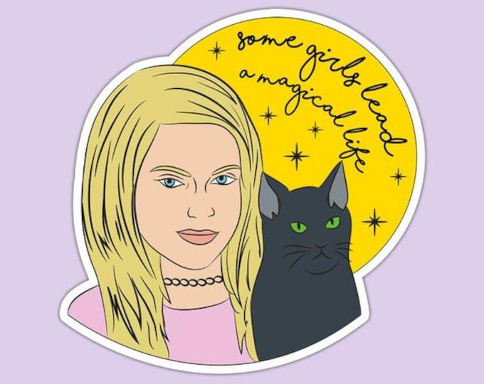 Sabrina the Teenage Witch Salem Sticker