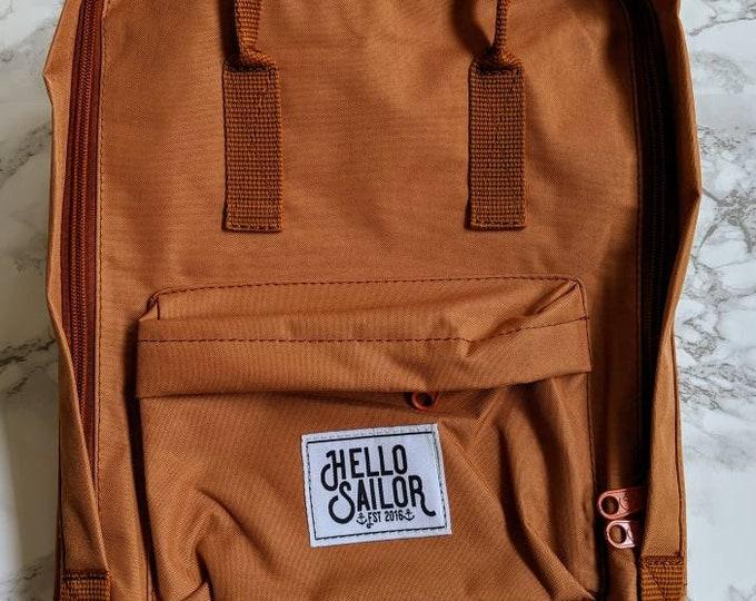 "Travel School Kids Moms Nylon Canvas backpack 14"" bag Outdoor"