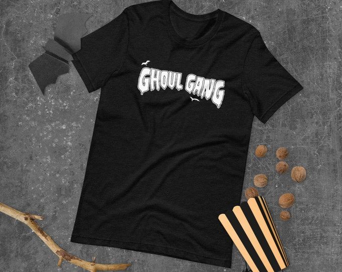 Ghoul Gang Spooky Halloween Feminst Short-Sleeve Unisex T-Shirt