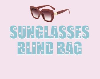 Sunglasses Blind Bag Random Pair Cat Eye Retro 70s 80s