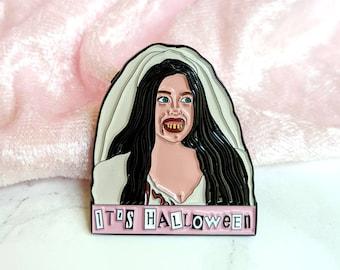 It's Halloween Cady Mean Girls Ex Wife Enamel Pin
