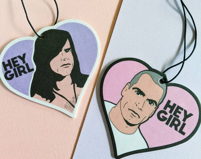 Punk Hunks Henry Rollins Danzig Hey Girl Air Fresheners Car Accessories Decor Strawberry Scented