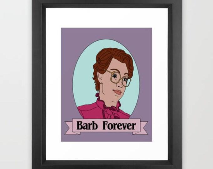 """Stranger Things Barb Forever Art Print 8x10"""""""