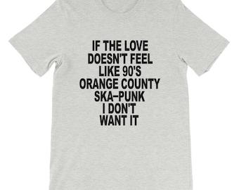 Love Like Ska Punk Short-Sleeve Unisex T-Shirt
