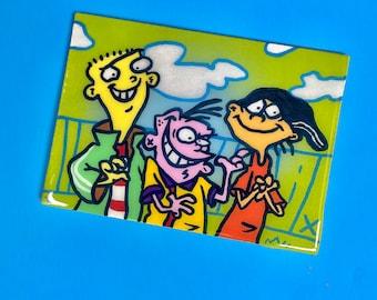 Ed, Edd n Eddy Original Canvas Board
