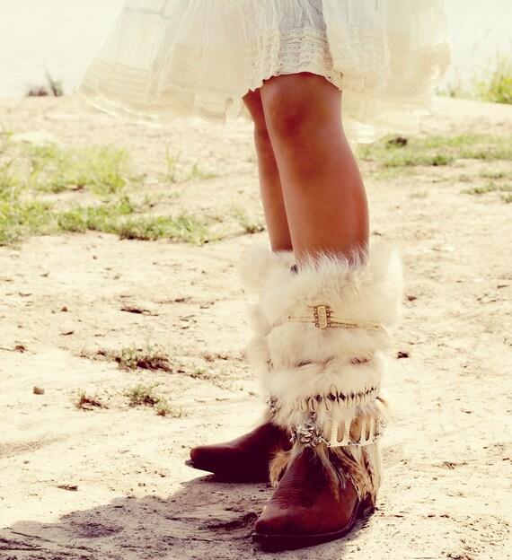 Jetzt bereit! HOCH Gesamthöhe Upcycled Stil REWORKED Vintage COWBOY Stiefel Boho Stiefel western Stiefel Knie hohe Lederstiefel