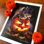 Trick or Treat A3 signed art print