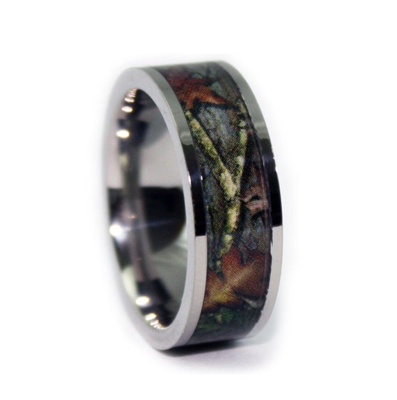RealTree Xtra Official Camouflage Ring Titanium Camo Rings