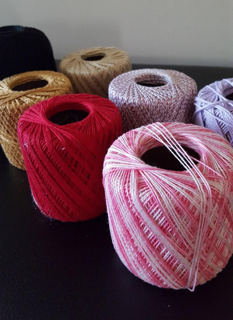 Destash Crochet Thread Balls Large Lot Of Crochet Yarn Ball Etsy
