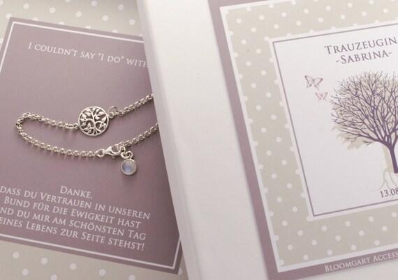 Hochzeit Armband Trauzeugin Bridesmaid Braut Geschenk Beste Freundin Geschenke Für Sie Weihnachten