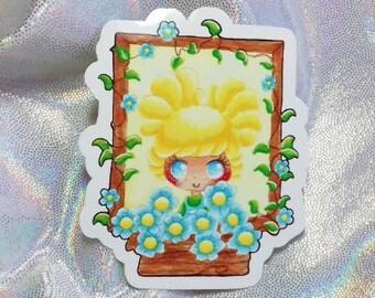 Chibi Gardener / Glossy Individual Sticker