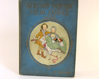 Vintage Nursery Friends from France Book - 1925