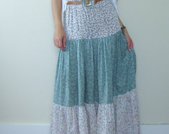 Tiered Gypsy Skirt | Tiered Skirt | Gypsy Skirt | Long Tiered Skirt | Long Skirt | Tiered Maxi Skirt | Maxi Skirt |  Boho Skirt | Spanish
