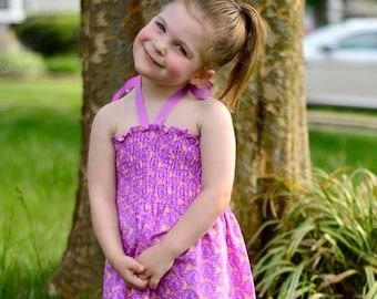 Shirred Zelda Summer Dress