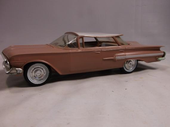 Plastic Promo 1960 Chevrolet Impala 4 Door Hardtop Toy Car Etsy