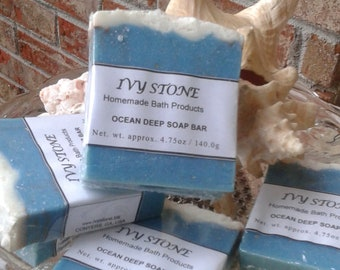 Homemade Soap for Men - Ocean Deep