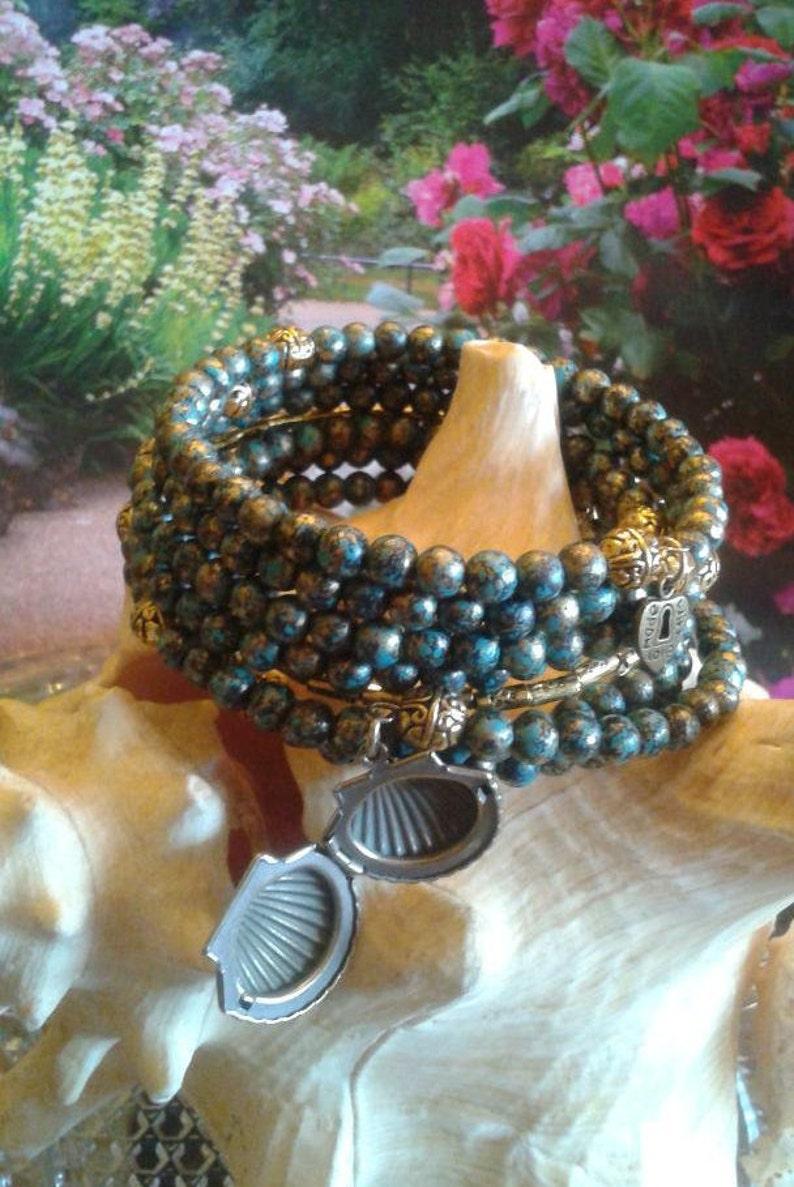 Journey Memory Wrap Bracelet