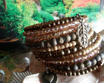 Well With My Soul - Memory Wrap Bracelet