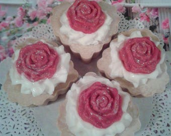 Homemade Soap Cupcakes - Allure