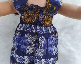 Women Tank Dress Thai Elephant Tattoo Design Screen Print Relaxed Soft and Comfy Summer Dress for Her