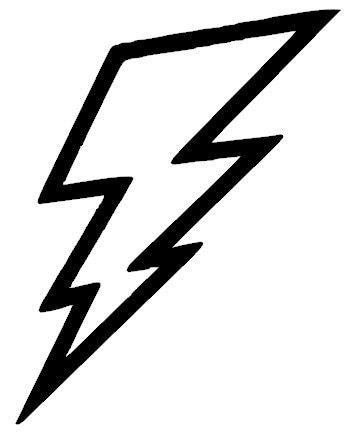 Lightning Bolt Vinyl Decal Sticker Etsy