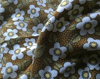 Funky Floral Seventies Tablecloth