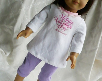 american girl doll, Valentine's Day dress for 18 inch and American Girl Doll