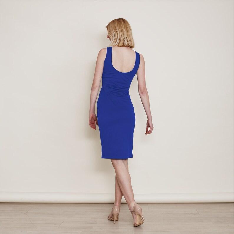 9aa6e5b5cb9 Marilyn Scoop Neckline Dress in Royal Blue. Wedding Reception