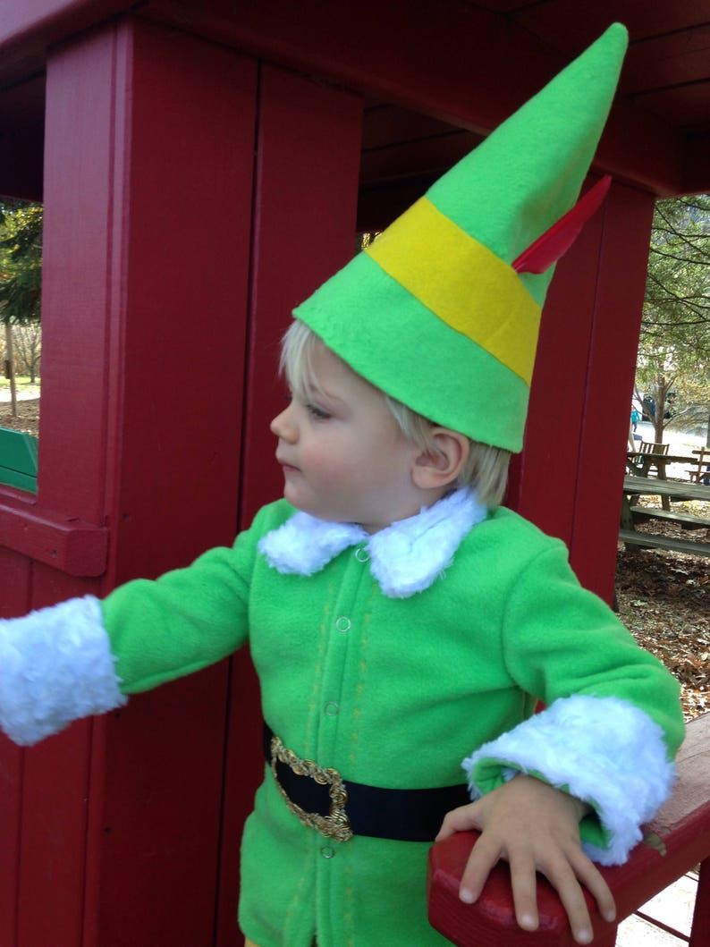 Elf Costume Outfit Baby Size Newborn to 24 months