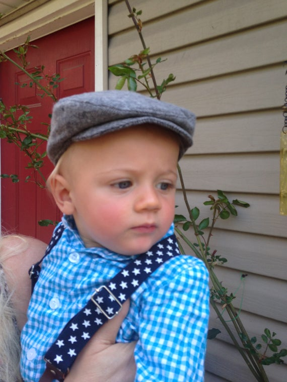 Baby Flat Cap Beret From Newborn to 18 month  fa52c1f57c0